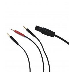 Cordon électrodes voie A ou B